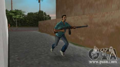 Degtyaryov del Manual de la Ametralladora para GTA Vice City tercera pantalla
