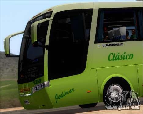 Busscar Vissta LO Scania K310 - Tur Bus para la vista superior GTA San Andreas