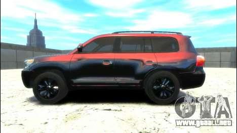Toyota Land Cruiser 200 2013 para GTA 4 left