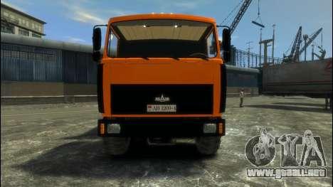 MAZ-6317 para GTA 4