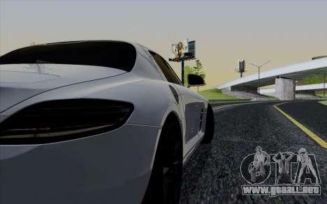 ENBSeries para PC débil v3 [SA:MP] para GTA San Andreas sucesivamente de pantalla
