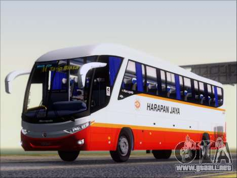 Marcopolo Paradiso 1200 Harapan Jaya para las ruedas de GTA San Andreas
