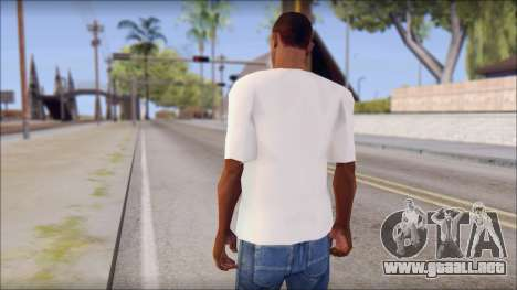 WWE Logo T-Shirt mod v1 para GTA San Andreas segunda pantalla