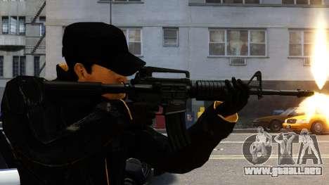 M4A1 para GTA 4 segundos de pantalla