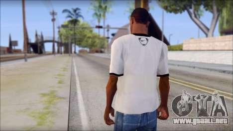 Nike Shirt para GTA San Andreas segunda pantalla