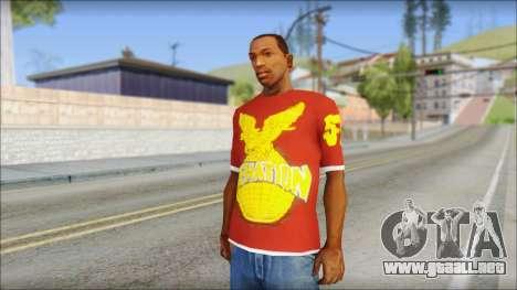 Cenation EHacker Shirt para GTA San Andreas