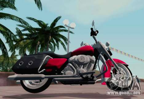 Harley-Davidson Road King Classic 2011 para GTA San Andreas left