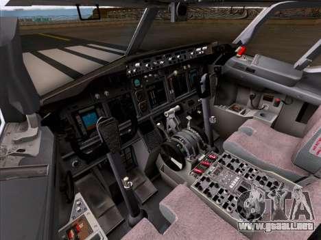 Boeing 737-800 Qantas para las ruedas de GTA San Andreas