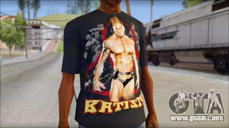 Batista Shirt v1 para GTA San Andreas tercera pantalla