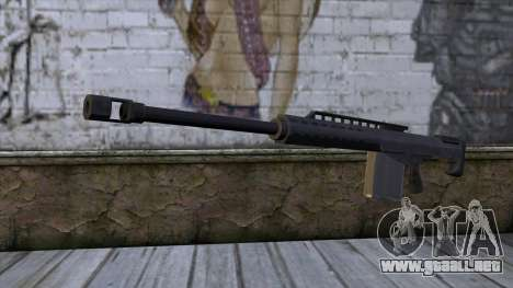 Heavy Sniper from GTA 5 para GTA San Andreas