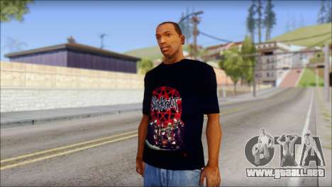 SlipKnoT T-Shirt v3 para GTA San Andreas