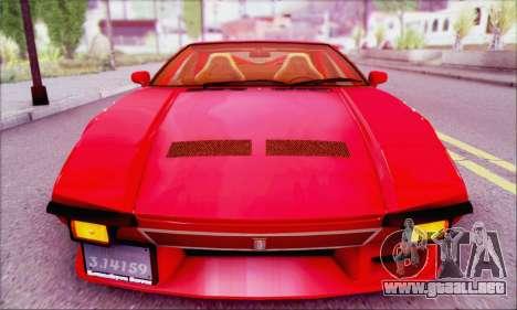 De Tomaso Pantera para la visión correcta GTA San Andreas