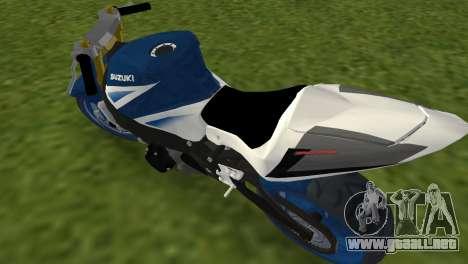 Suzuki GSX-R 1000 StreetFighter para GTA Vice City vista lateral izquierdo