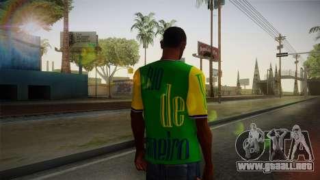 RIO T-Shirt para GTA San Andreas segunda pantalla