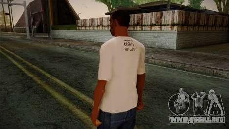 Dreambirds T-Shirt para GTA San Andreas segunda pantalla