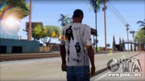 Terror T-Shirt Hardcore para GTA San Andreas segunda pantalla