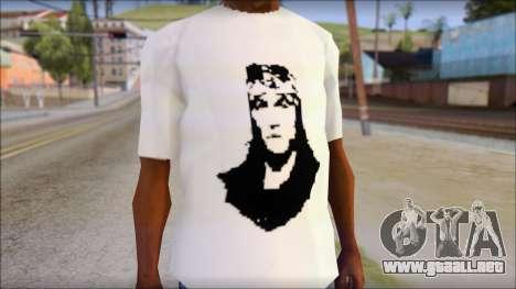 Axl Rose T-Shirt Mod para GTA San Andreas tercera pantalla