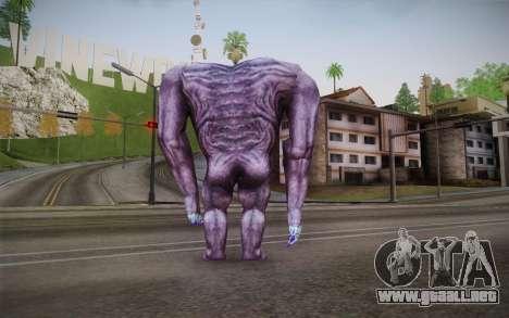 Gnaar from Serious Sam para GTA San Andreas segunda pantalla