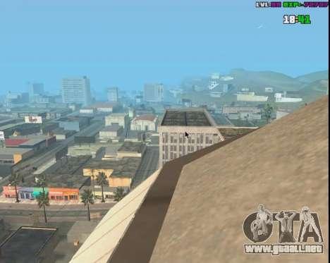 Click Warp para GTA San Andreas tercera pantalla