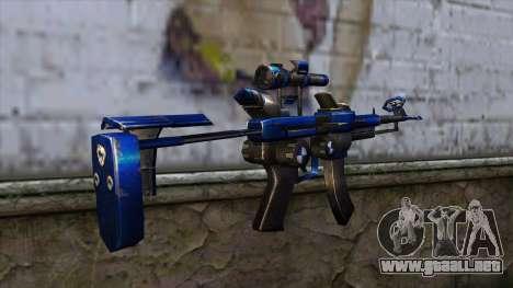 CartBlue from CSO NST para GTA San Andreas segunda pantalla