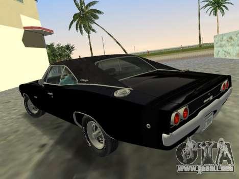Dodge Charger RT 426 1968 para GTA Vice City left