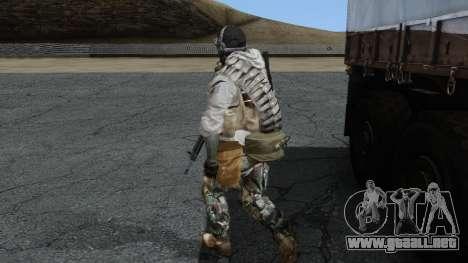 Army Ghost v1 para GTA San Andreas segunda pantalla