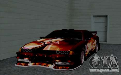 Trabajos de pintura para Yakuza Elegía para visión interna GTA San Andreas