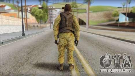 Afganistan Forces para GTA San Andreas segunda pantalla