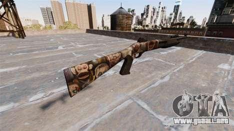 Ружье Benelli M3 Super 90 zombies para GTA 4 segundos de pantalla