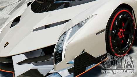 Lamborghini Veneno 2013 para GTA 4 visión correcta