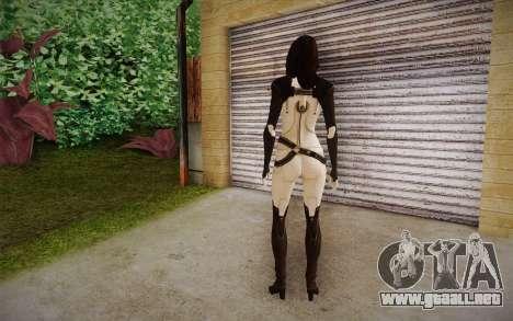 Miranda from Mass Effect 2 para GTA San Andreas segunda pantalla