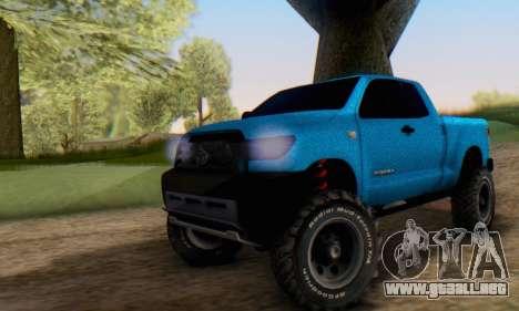 Toyota Tundra OFF Road Tuning Blue Star para GTA San Andreas