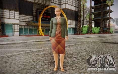 Mujer de edad avanzada para GTA San Andreas