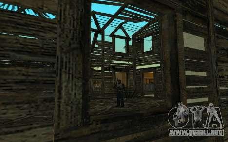 La casa de Call of Duty 4 para GTA San Andreas tercera pantalla
