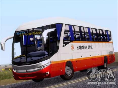 Marcopolo Paradiso 1200 Harapan Jaya para GTA San Andreas left