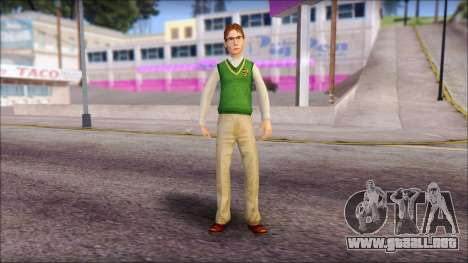 Donald from Bully Scholarship Edition para GTA San Andreas segunda pantalla