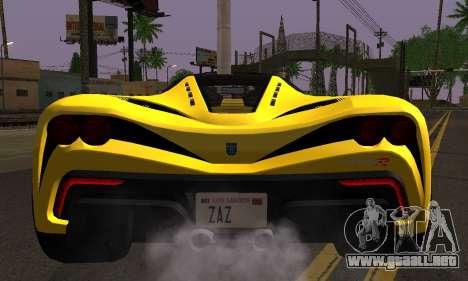 Grotti Turismo R V.1 para la visión correcta GTA San Andreas