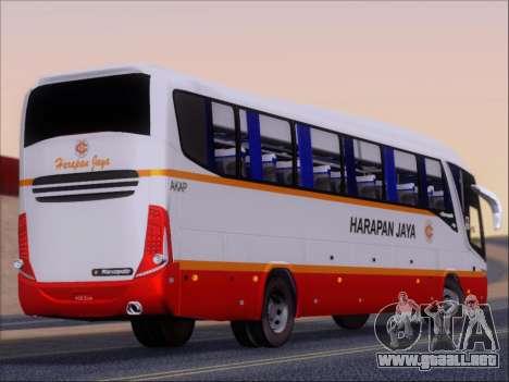 Marcopolo Paradiso 1200 Harapan Jaya para la visión correcta GTA San Andreas