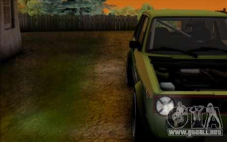 Volkswagen Golf Mk I para la visión correcta GTA San Andreas