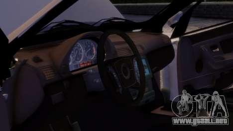 SsangYong Kyron para GTA 4 vista hacia atrás
