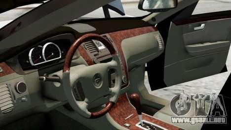 Cadillac DTS 2006 v1.0 para GTA 4 visión correcta