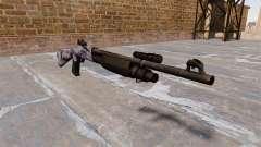 Ружье Benelli M3 Super 90 azul tigre