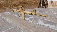 Automático carabina MA Skol Camo para GTA 4