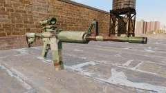 Automático de la carabina, PERO la OTAN Camo