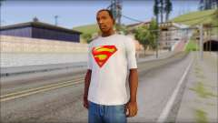 Superman T-Shirt para GTA San Andreas