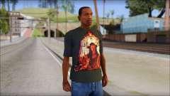 Undertaker T-Shirt para GTA San Andreas