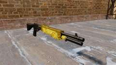 Pistola de Franchi SPAS-12 de Oro para GTA 4