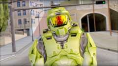 Masterchief Green from Halo para GTA San Andreas