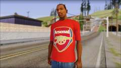 Arsenal T-Shirt para GTA San Andreas