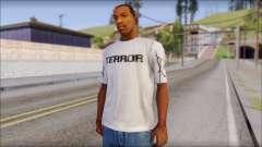 Terror T-Shirt Hardcore para GTA San Andreas